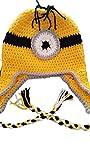 Minions Winter Strickmütze Beanie Mütze (Gelb)