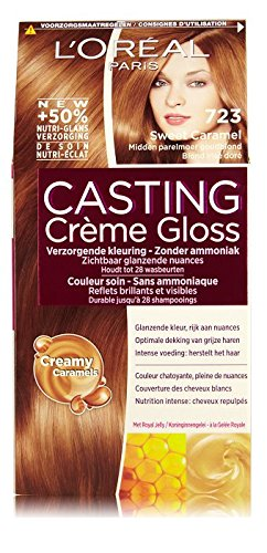 L'Oreal Paris Casting Crème Gloss 7,23 Dulce Leche - Haare süßem Karamell Mitte Perle golden blond - Haare