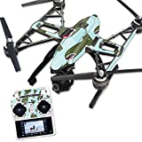 MightySkins Protective Vinyl Skin Decal for Yuneec Q500 & Q500+ Quadcopter Drone wrap cover sticker skins Bombs Away