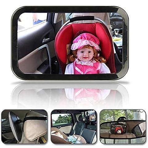 Hillington ® Large Wide View Rear Baby Child Car Seat