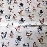 Huhn–Hühner–MAr02–0,5Meterware–von