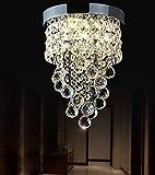 AXCJ Araña de Luces: la anularidad de la iluminación, una Joya Transparente, una lámpara Colgante de Cristal Invisible, la Sombra de la Asamblea de técnicas Modernas de decoración Iluminación interio