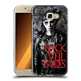 Head Case Designs Offizielle Black Veil Brides Andy Member der Band Soft Gel Hülle für Samsung Galaxy A5 (2017)