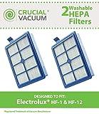 2Electrolux lavable HF1, HF12, El012Pot filtres Hepa, Part # H13, Sp012, H12et 60286A, conçu et fabriqué par Crucial Vacuum
