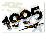 DigitalOase Glückwunschkarte Jahrgang 1995 24. Geburtstag Geburtstagskarte Grußkarte Format DIN A4 A3 Klappkarte PanoramaUmschlag #WALK