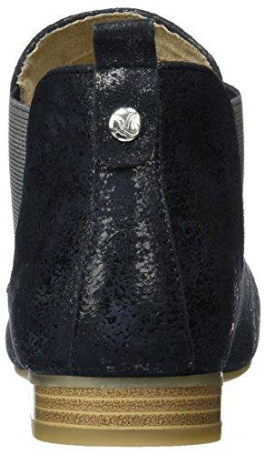 Caprice 25301, Bottes Chelsea courtes, doublure froide femme Bleu (Ocean Suede)