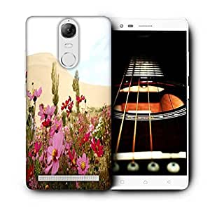 Snoogg Green Leaves Printed Protective Phone Back Case Cover For Lenovo K5 Note