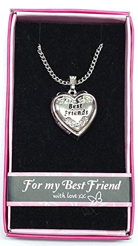 Best Friends Love Locket Gift Boxed Pendant , Birthday, Christmas, Any Occasion Gift