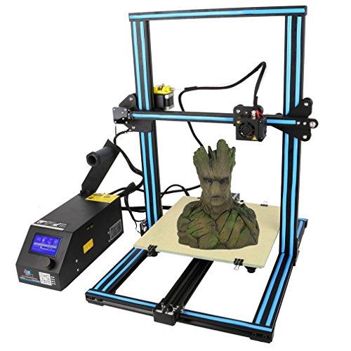 Creality CR-10 DIY Aluminum 3D Drucker 3D Printer Hohe Genauigkeit Mit LCD Bildschirm für Industrie 300 x 300 x 400 mm Blau