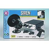 sirene 12v pour voiture - 10 tonalitÃes de klaxon + micro