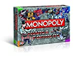 Winning Moves 43492 – Monopoly Transformers, rétro, jeu d'adresse