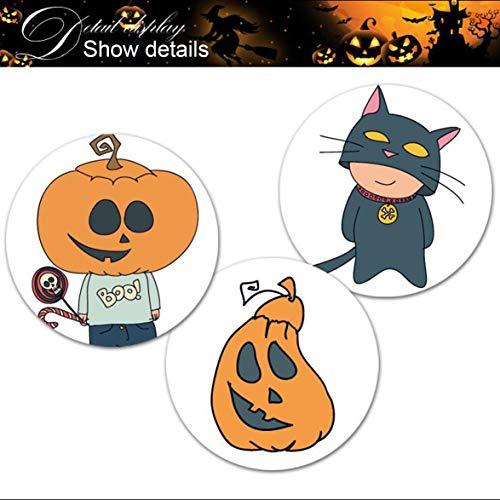 artoon Halloween PVC Wandaufkleber Für Kinder Schlafzimmer Fenster Hintergrund Dekoration Poster Wandbilder ()