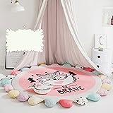 Kriechende matte baumwolle baby,Runde Spielen sie teppich kinder schlafzimmer decor wohnzimmer...