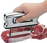 Hochwertiger Fleischzartmacher aus Edelstahl Fleisch Steaker Schnitzelklopfer