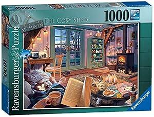 Ravensburger My Haven No. 6. Rompecabezas The Cosy Shed de 1000 Piezas