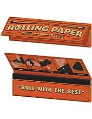 Skate Mental Rolling Paper Grip para monopatín, multicolor