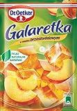 Götterspeise mit Pfirsichgeschmack 77g von Dr. Oetker I Polnische Desserts & Backen
