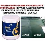 LCM2014 RESULTATS Incroyables ! Polish P5 Pot 300G EFFACE Rayures ET RAVIVE Les PEINTURES TERNIES !