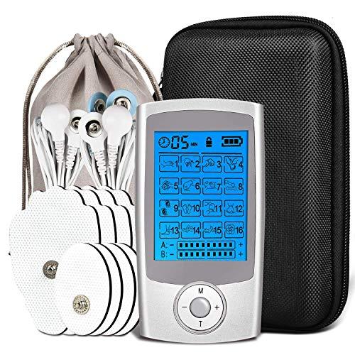 Massaggiatore tens ems, massaggiatore schiena gambe collo e spalle tens elettrostimolatore, massaggiatore stimolatore, tens a impulsi, xpower addominali elettrostimolatore