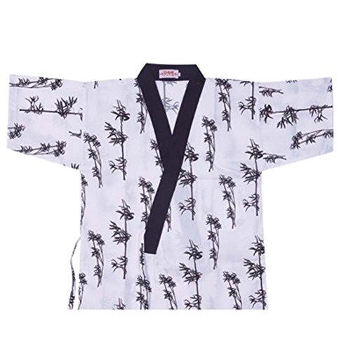 Japanische Sushi Bar Restaurant Bar Kleider Kellner halbe Ärmel Uniform Chef Jacket, # 11 (Mantel Küchenchef)