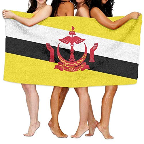 KENETOINA Beach Towel Flag of Brunei 80
