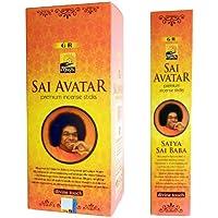 Preisvergleich für Räucherstäbchen 180 Stäbchen Maya Sai Avatar Incense Sticks 12 Schachteln zu je 15 Sticks Wohnaccessoire Raumduft