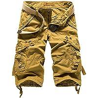 Pantalones Cortos Sueltos De Varios Bolsillos De Verano para Hombres