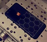 #4: GadGetsWrap Black Edition limited iphone 6 (4.7) / 6s (4.7) Nutted Golden Sticker skin for BACK & SIDES ONLY