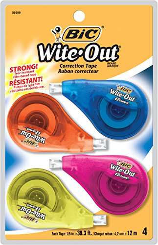 wite-out-ez-correct-correction-tape-non-refillable-1-6-x-400-4-pack-sold-as-1-package