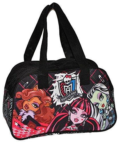 Unbekannt Monster High Sporttasche / Reisetasche / Tragetasche - Tasche für Mädchen als Sportbeutel wasserabweisend Vampir