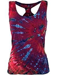 Guru-Shop Batik Hippie Top, Tank Top, Damen, Blau, Synthetisch, Size 38,  Tops, T-Shirts, Shirts Alternative… f399761863