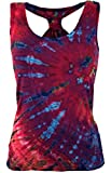 Guru-Shop Batik Hippie Top, Tank Top, Damen, Pink, Synthetisch, Size:38, Tops, T-Shirts, Shirts Alternative Bekleidung