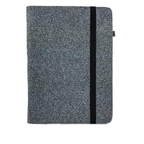 handy-point Organizer Tasche aus Filz Filztasche Filzhülle Hülle Tablethülle Schutzhülle mit Kartenfach, Universell 10,2-13.3 Zoll, Für Laptop Ultrabook Notebook (13,3'', Grau) 13,3-zoll-ultrabooks Notebook