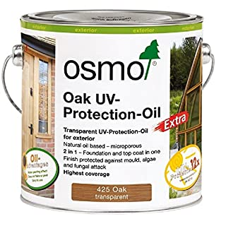 Osmo UV-Protection Oil-Oak with Active Ingredients 425D 2.5 Litre