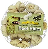 Rawhide Brand 2-Inch Natural Safety-Knot Bones, 12 Per Pack, Mesh/Hdr