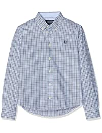 Hackett London Three Col Chk Shirt, Camisa para Niños