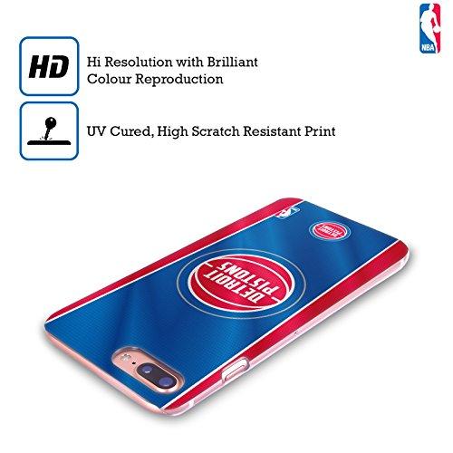 Ufficiale NBA Camouflage Digitale Detroit Pistons Cover Retro Rigida per Apple iPhone 6 Plus / 6s Plus Banner