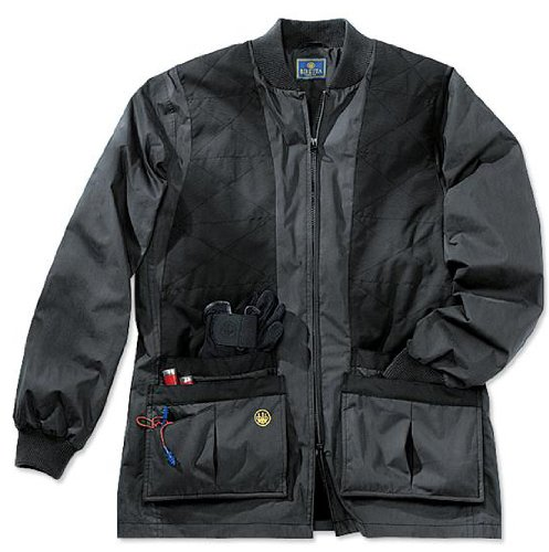 Beretta Herren Bisley Front-Reißverschluss Wasserdichte Shooting Jacke, Herren, schwarz - Beretta Jacke