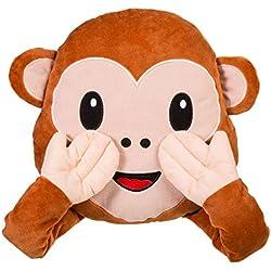 Cójin Emoticono Whatsapp Mono 34 x 24 cm