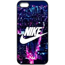 The logo of Nike for Apple iPhone 5/5S Black Case Hardcore-1