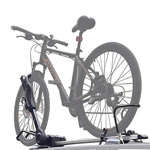 Dach-Fahrradträger für 1 Fahrräder, Nutzlast 50KG, Zusammenklappbar für Auto SUV LKW