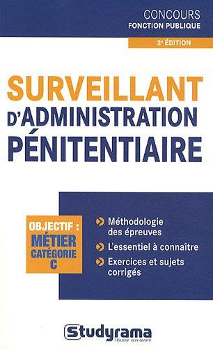 Surveillant d'administration pénitentiaire