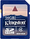 Kingston 16GB SD SDHC Memory Card Stick For Panasonic Lumix DMC-FH20, Lumix DMC-FZ48, Lumix DMC-FZ62, Lumix DMC-G5, Lumix DMC-GF5, Lumix DMC-LF1 Digital Camera