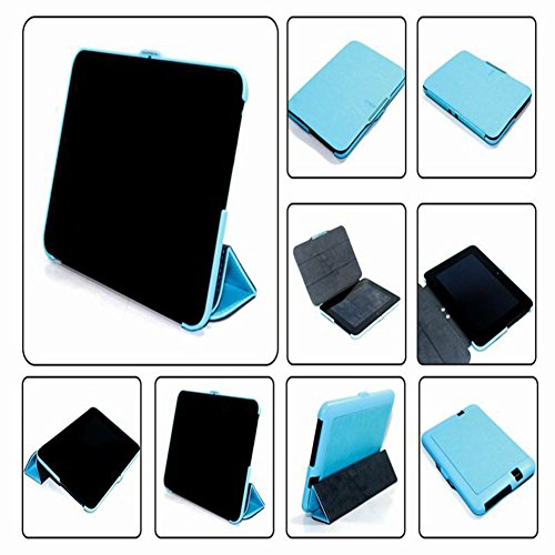 Fire Hd Case Kindle 7 2012 (Meijunter Blue Halter Leder Protector Pouch Fall Decken Tablette-Kasten Cover Case Für 7