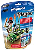 Playmobil 6162 - Grüne App-Kanone mit Piratenkapitän