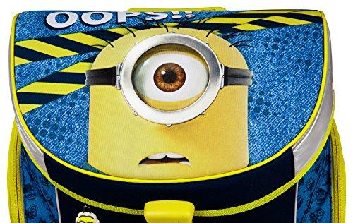 Undercover MNVA7293 Kindergartentasche, Minions, ca. 21 x 22 x 8 cm Schulranzen Set Campus Up, 6 teilig