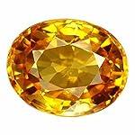 Vaibhav Gems 11.25 Ratti Yellow Sapphire (Pukhraj) Gemstone