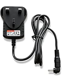 Mains AC Adaptor Charger DC 6V IN for Technika Retro Leather DAB 211L Radio