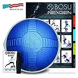 Physical Company Unisex Bosu Balance Trainer PRO Nextgen con Design Strutturato, Blu, 65cm