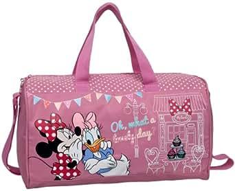 Disney Genuine Childrens Kids Girls Sport Gym PE Travel Bag (Holdall Minnie Mouse)